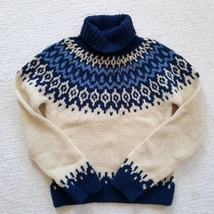 Vintage American Eagle Fair Isle Pullover Sweater